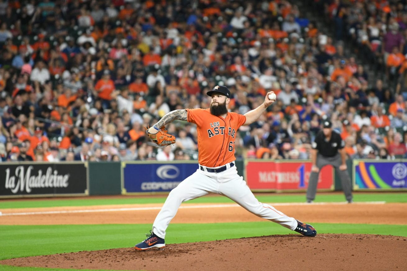 Dallas Keuchel mid pitch