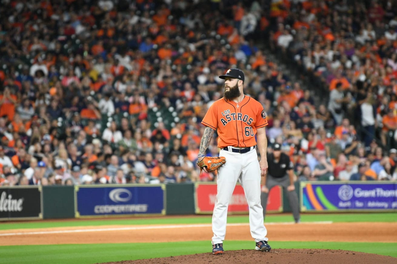 Dallas Keuchel on the mound