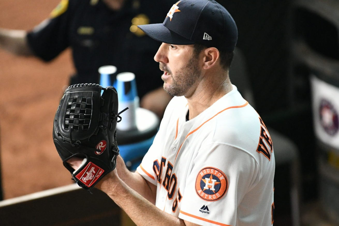 Justin Verlander focused